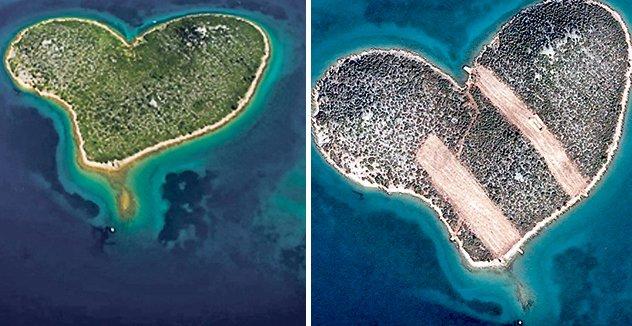 Szerelmesek szigete Horvátországban