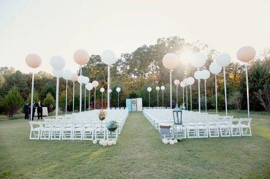 Milyen az ízléses léggömb dekoráció az esküvőn?