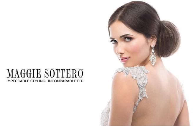 Menyasszonyi ruha Maggie Sottero módra