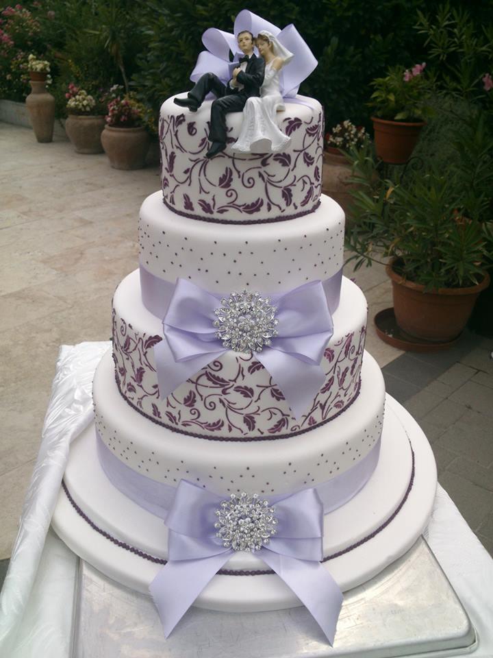 Masnis esküvői torta