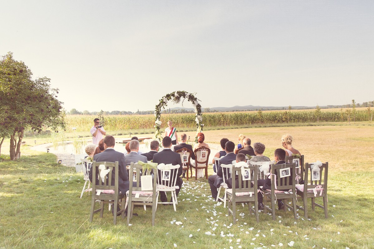 Vintage esküvő - Reni és Balázs