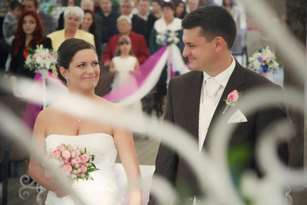 Niké és Gábor - Esküvő Vintage