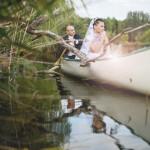 Esküvő a modern és a vintage stílus jegyében. Fotó: VivienNaomi Photography