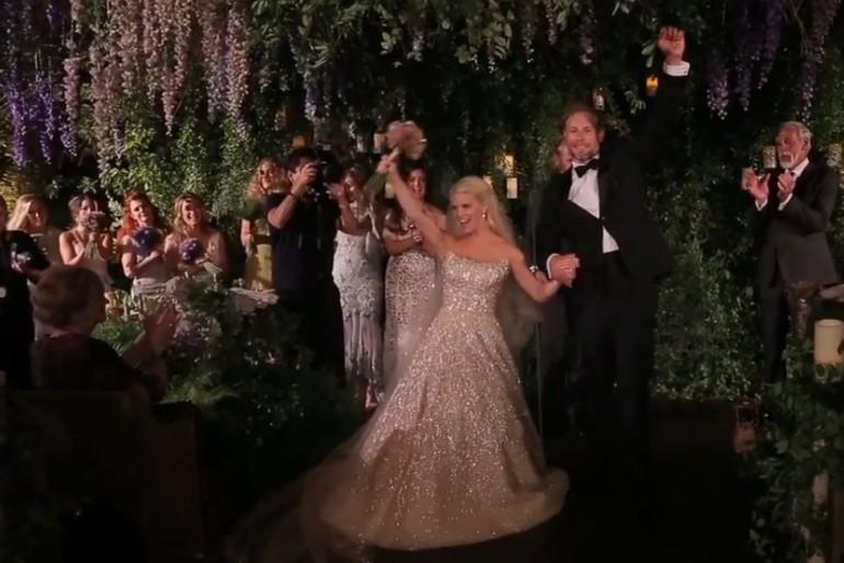Jessica Simpson esküvőjének részletei videóval
