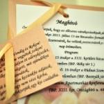 Esküvői meghívó - Esküvő Vintage