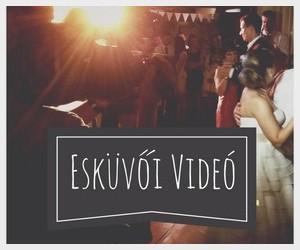 Esküvői videó készítés