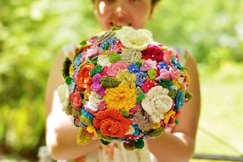 41ec3255c9 Menyasszonyi csokor virág nélkül - Esküvő Vintage