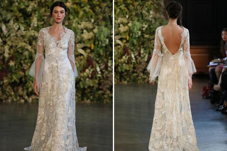 Claire Pettibone angyali menyasszonyi ruhái
