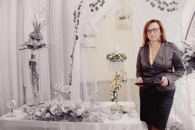 Sasvári Erika, esküvői dekoráció készítő
