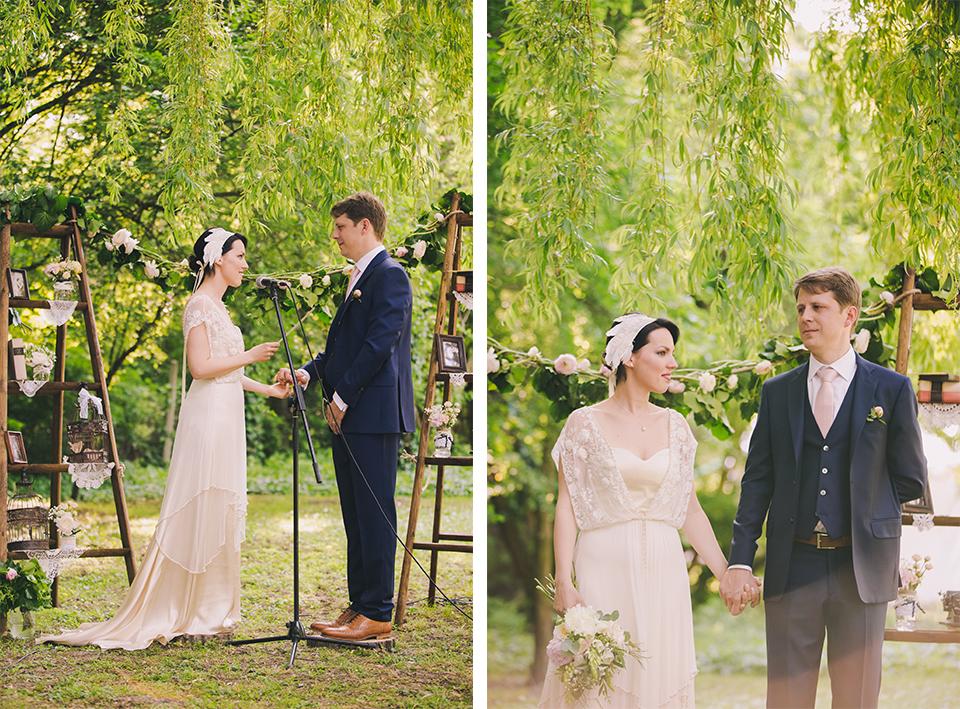Vadregényes esküvő - Esküvő Vintage