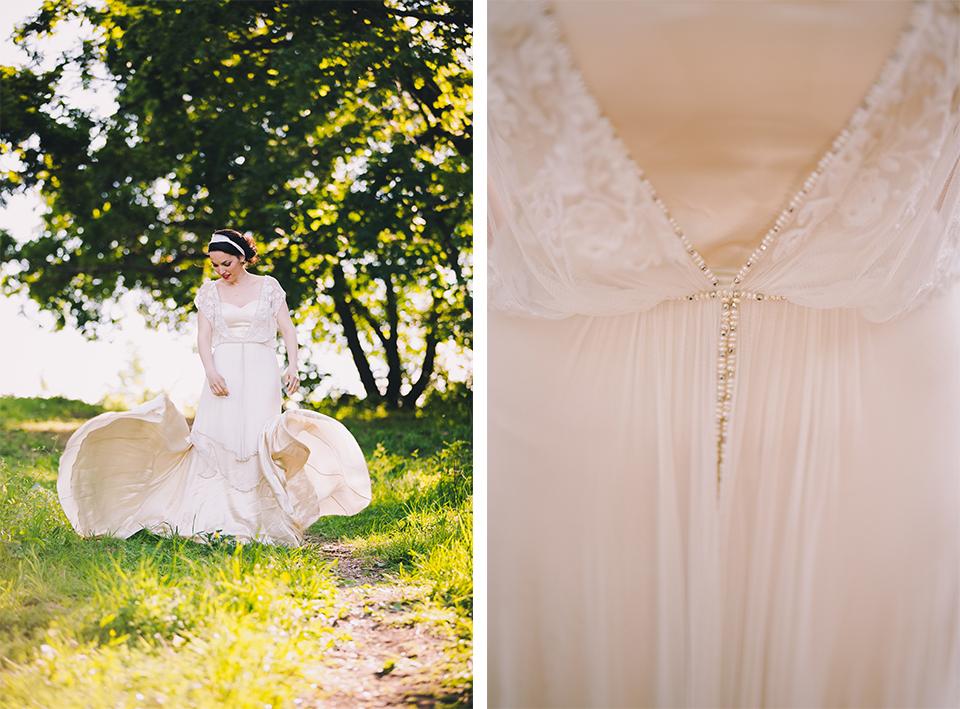 menyasszonyi ruha - szerelem első látásra