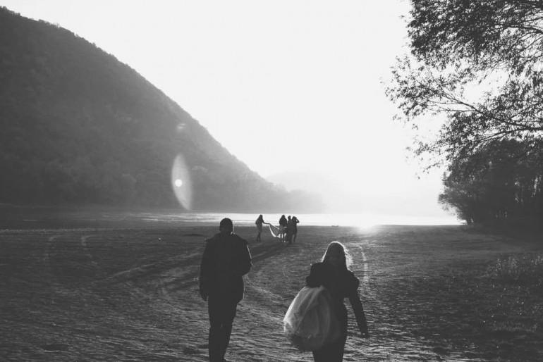 Nora Sarman 2016-os kampányfotózás a Pinewood Weddingsel