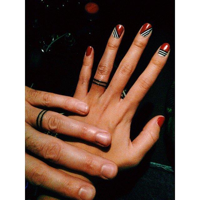 Tetovált karikagyűrű