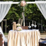 Esküvő a szabadban - Esküvő Vintage