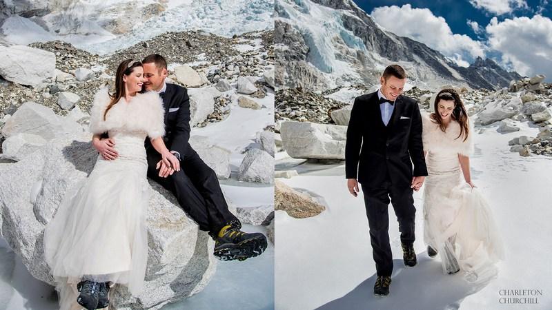 Esküvő a Mount Everesten