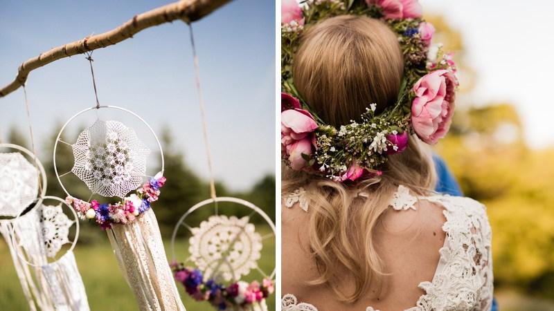 a707669c00 Kerti virágok, csipkék - DIY esküvő a természetben - Esküvő Vintage